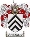 Thumbnail Archdeckne Family Crest Archdeckne Coat of Arms Digital Download
