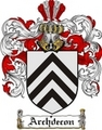Thumbnail Archdecon Family Crest  Archdecon Coat of Arms