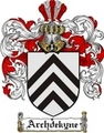 Thumbnail Archdekyne Family Crest  Archdekyne Coat of Arms