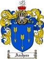 Thumbnail Archere Family Crest  Archere Coat of Arms