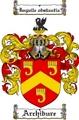 Thumbnail Archibure Family Crest  Archibure Coat of Arms