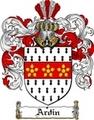 Thumbnail Ardin Family Crest  Ardin Coat of Arms
