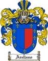 Thumbnail Arellano Family Crest  Arellano Coat of Arms