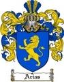 Thumbnail Arias Family Crest  Arias Coat of Arms