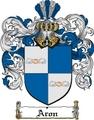 Thumbnail Aron Family Crest Aron Coat of Arms Digital Download