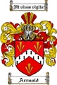 Thumbnail Arrnold Family Crest Arrnold Coat of Arms Digital Download