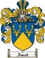 Thumbnail Ascot Family Crest Ascot Coat of Arms Digital Download
