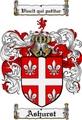 Thumbnail Ashurst Family Crest Ashurst Coat of Arms Digital Download