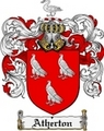 Thumbnail Atherton Family Crest Atherton Coat of Arms Digital Download