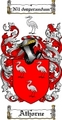 Thumbnail Athorne Family Crest  Athorne Coat of Arms