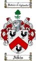 Thumbnail Atkin Family Crest  Atkin Coat of Arms