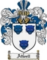Thumbnail Atwell Family Crest Atwell Coat of Arms Digital Download