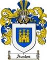 Thumbnail Avalos Family Crest  Avalos Coat of Arms