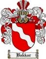 Thumbnail Bakkar Family Crest  Bakkar Coat of Arms