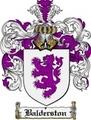 Thumbnail Balderston Family Crest Balderston Coat of Arms Digital Download