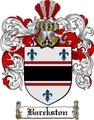 Thumbnail Barckston Family Crest  Barckston Coat of Arms