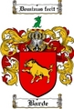 Thumbnail Barde Family Crest  Barde Coat of Arms