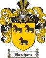 Thumbnail Bareham Family Crest  Bareham Coat of Arms