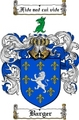 Thumbnail Barger Family Crest  Barger Coat of Arms