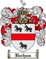 Thumbnail Barham-2 Family Crest Barham-2 Coat of Arms Digital Download
