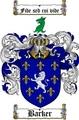Thumbnail Barker Family Crest / Barker Coat of Arms
