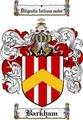 Thumbnail Barkham Family Crest Barkham Coat of Arms Digital Download