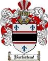 Thumbnail Barkstead Family Crest  Barkstead Coat of Arms