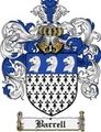 Thumbnail Barrell Family Crest Barrell Coat of Arms Digital Download