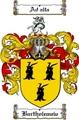 Thumbnail Bartholemew Family Crest  Bartholemew Coat of Arms