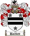 Thumbnail Bartlett Family Crest  Bartlett Coat of Arms