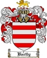 Thumbnail Bartly Family Crest  Bartly Coat of Arms