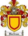 Thumbnail Bartram Family Crest Bartram Coat of Arms Digital Download