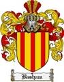 Thumbnail Basham Family Crest Basham Coat of Arms Digital Download