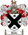 Thumbnail Batte Family Crest  Batte Coat of Arms