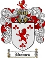 Thumbnail Beames Family Crest  Beames Coat of Arms