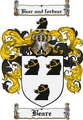 Thumbnail Beare Family Crest Beare Coat of Arms Digital Download