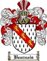Thumbnail Bearnais Family Crest Bearnais Coat of Arms Digital Download