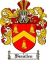 Thumbnail Beaulieu Family Crest  Beaulieu Coat of Arms