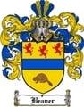 Thumbnail Beaver Family Crest  Beaver Coat of Arms