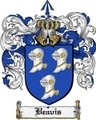 Thumbnail Beavis Family Crest Beavis Coat of Arms Digital Download