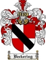 Thumbnail Beckering Family Crest Beckering Coat of Arms Digital Download