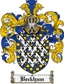 Thumbnail Beckham Family Crest Beckham Coat of Arms Digital Download