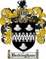 Thumbnail Beckingham Family Crest Beckingham Coat of Arms Digital Download