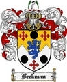 Thumbnail Beckman Family Crest Beckman Coat of Arms Digital Download