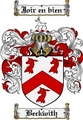 Thumbnail Beckwith Family Crest Beckwith Coat of Arms Digital Download