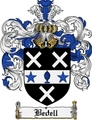 Thumbnail Bedell Family Crest Bedell Coat of Arms Digital Download