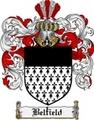Thumbnail Belfield Family Crest Belfield Coat of Arms Digital Download