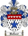 Thumbnail Belford Family Crest Belford Coat of Arms Digital Download