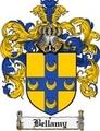 Thumbnail Bellamy Family Crest Bellamy Coat of Arms Digital Download