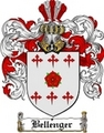 Thumbnail Bellenger Family Crest  Bellenger Coat of Arms